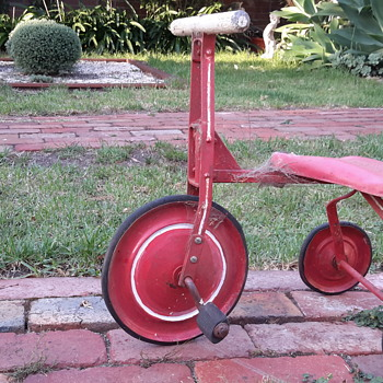 1950s ? Childs red tricycle