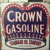 Crown Gasoline Sign