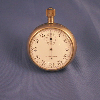 Elgin (Bomb ?) Timer - Pocket Watches