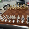 Italy antique staunton chess set restored now made in 19??
