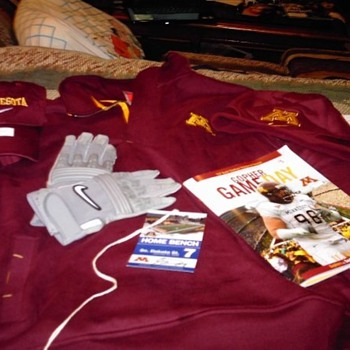 All-access pass and souvenirs for the University of Minnesota vs South Dakota State University football game - Football