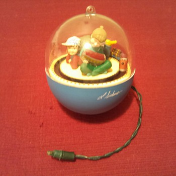 Hallmark lighted Ornament