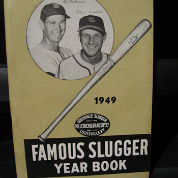 1949 Famous Slugger Year Book - Baseball