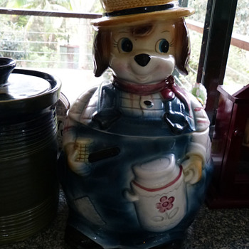 Vintage Japan Cookie Jar