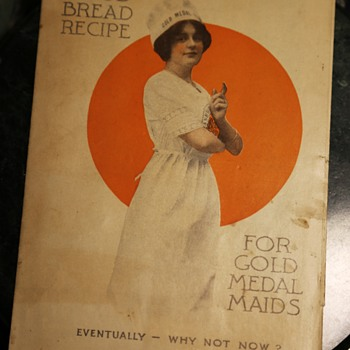 A Good Bread Recipe for Gold Medal Maid's - Advertising