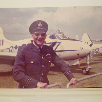 V.I.P.Pilot. Royal Visit. RAF Wyton, UK