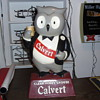 Calvert Whiskey Composition Owl Display