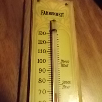 Arts and crafts thermometer