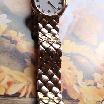 RAYMOND WEIL Watch 18k gold electroplated Swiss Geneve Age do not Know? You know?