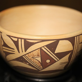 Hopi / Tewa Bowl by Barbara Polacca
