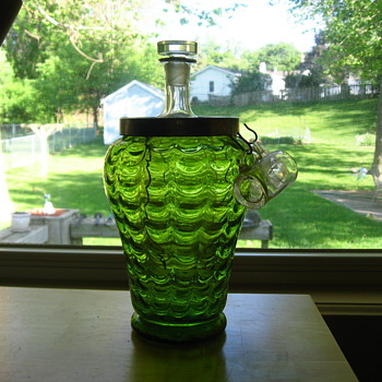 Czech decanter set