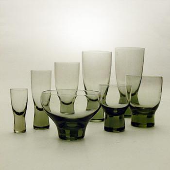 CANADA range, Per Lütken (Holmegaard, 1955) - Art Glass