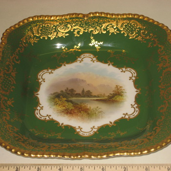 English Porcelain Bowl - China and Dinnerware