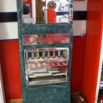 """Canteen"" Cigarette Machine - Coin Operated"