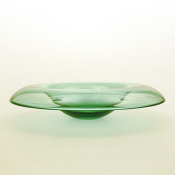 EVERGREEN/KRAVESKAAL, Per Ltken (Holmegaard, 1985) - Art Glass