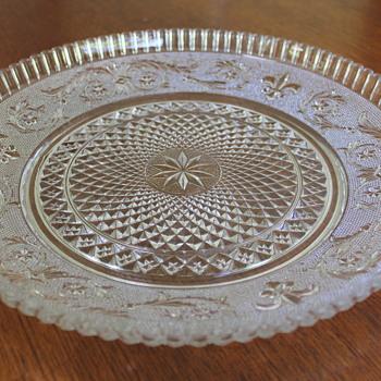 Hasegawa Glass platter