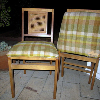 Stakmore Caneback Wooden Chairs