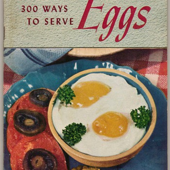 1949 - 300 Ways to Serve Eggs - Books