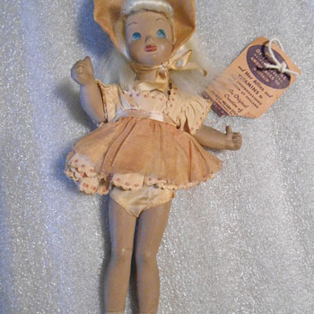 1941 Victory Thumbs Up Doll WWII