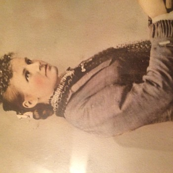 Sunday Flea Market Find Victorian Lsdy Photograph