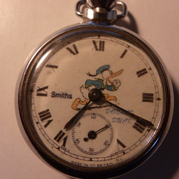 ngersoll LTD/Smiths Donald Duck Pocket Watch - Pocket Watches