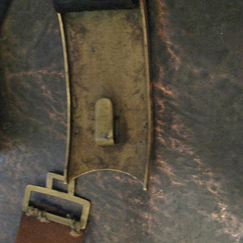 "very high quality ornate Austrian ""Freiheit"" (Freedom) belt plate and complete belt assembly"