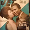 Jet Magazine from 1968 cover Sidney Poitier and Abbey Lincoln