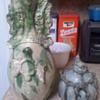 Pottery saved from the trash....