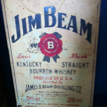 Jim Beam Sign - Signs