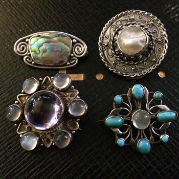 Arts & Crafts Brooches