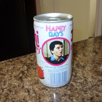happy days nehi soda can - Advertising