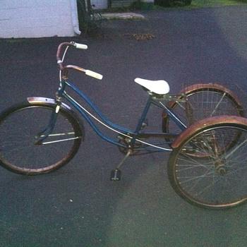 Hawthorne Montgomery Ward Trike?