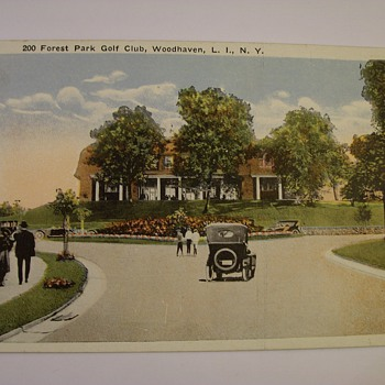 "Very Early 1900's Postcards From Brooklyn Long Island N.Y. ""Woodhaven"""