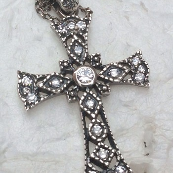Antique Diamond cross