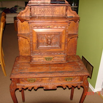 Monks desk 1834 ???? Ontario Canada - Furniture