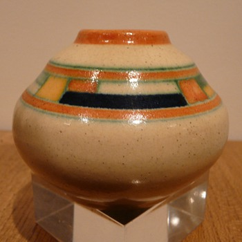 Art Deco Kennemer Potterij Blokjes  - Pottery