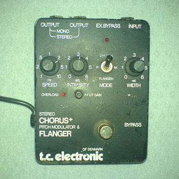 TC Electronic Stereo Chorus+ - Guitars