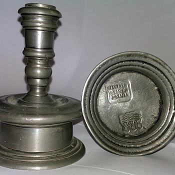 Spanish Candlesticks Silver?
