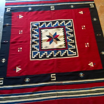 Santa Fe Find - Vintage Rug - Rugs and Textiles