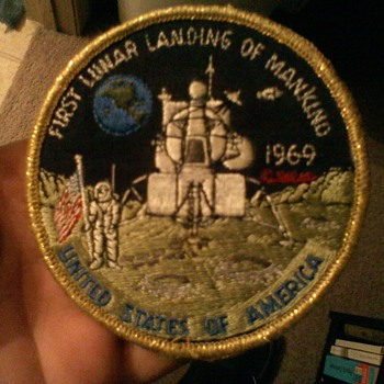 First Lunar Landing patch 1969