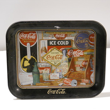 These are reproductions.... - Coca-Cola