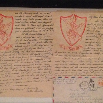 Father Buckley 23rd Fighter Group Letter - Military and Wartime