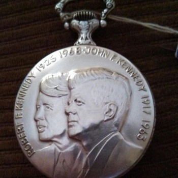 RFK/JFK Pocket Watch
