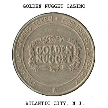 Golden Nugget Casino - $1 Gaming Token