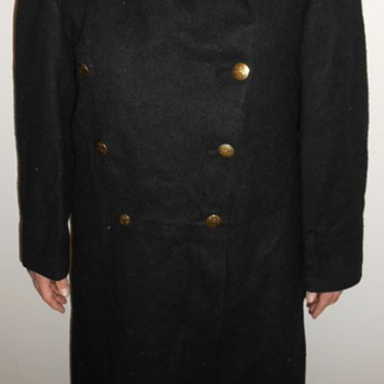 "Buttons on WWI British Overcoat~What does ""CBU"" mean?"