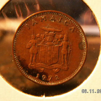 1972 Jamaica 1 Cent - World Coins
