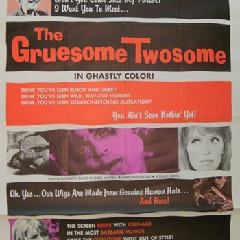 The Gruesome Twosome poster - Movies