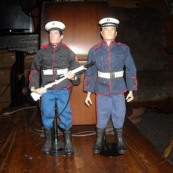 GI Joe Set #7710 Marine Dress Parade 1964