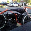 Harley Davidson Schwinn tank bike cruiser