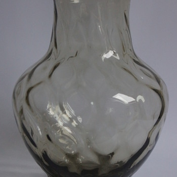 Whitefriars Grey Vase - Art Glass